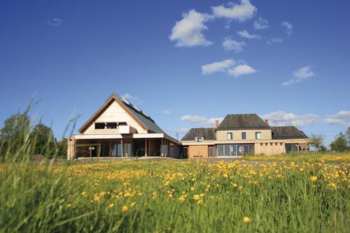 Parc naturel r gional des marais du cotentin et du bessin for Aux maisons maison les chaources