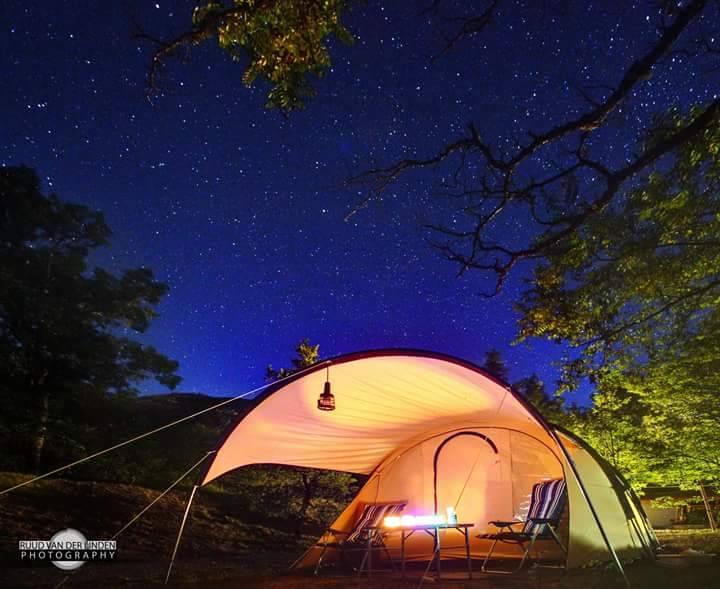 Camping Domaine Chasteuil Provence - tente sous les étoiles