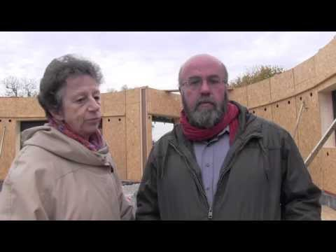 Régine et Daniel Hennion font construire une maison passive et écologique