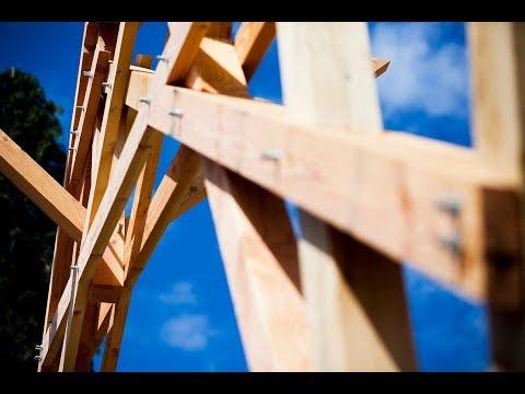 Histoire de la construction de la halle d'Anost, 100% bois du Morvan